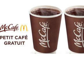 Café Gratuit chez McDonald's