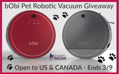 Robot aspirateur bObi Pet