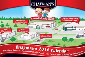 Calendrier Gratuit Chapman's 2016