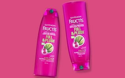 Echantillon Gratuit, Fructis Full & Plush