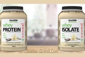 Echantillon gratuit de Proteines Kaizen
