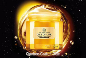 Echantillons Gratuits de l'huile de soin de The Body Shop Oils Of Life