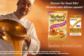 Sachets Gratuits de caramels Werther's