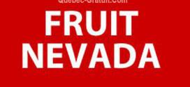 Circulaires Fruits Nevada
