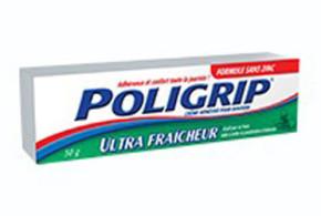 Echantillon Gratuit de crème adhésive pour prothèse dentaire Poligrip