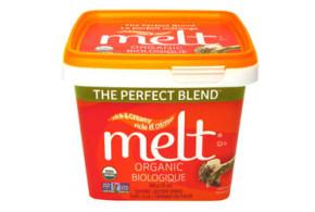 Le beurre organique MELT sans produits laitiers à tester