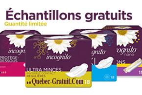 Echantillons Gratuits Incognito