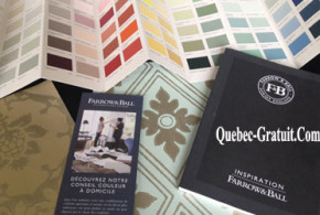 Brochure et carte de couleur Gratuit, Farrow & Ball