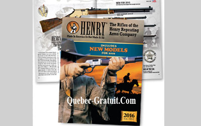 Catalogue Henry Repeating Gratuit