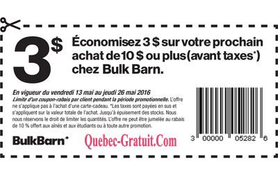 coupon a imprimer quebec