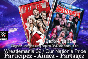 DVD WWE WrestleMania 32 et Our Nation's Pride