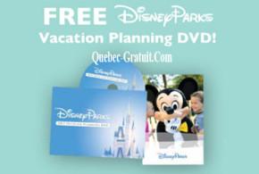 DVD gratuit Disney – Planification de vacances
