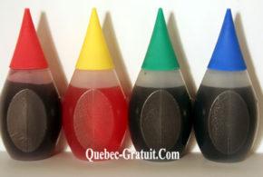 Echantillons gratuits de colorants alimentaires