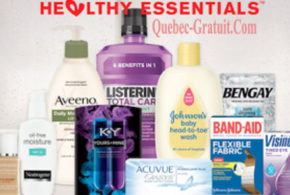 Packs d'échantillons gratuits Johnson & Johnson