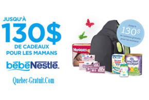 Produits Gratuits Nestlé pour bébé