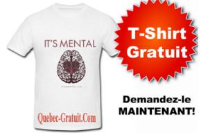 T-Shirt It's Mental Gratuit