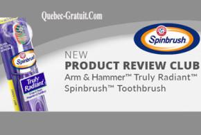 Testez la brosse à dents Truly Radiant