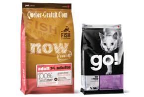Échantillon gratuit de nourriture pour chien et chat