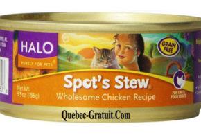 Boite de nourriture pour chat Halo Gratuit