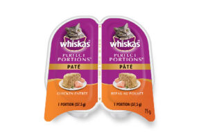 Un emballage Whiskas Perfect Portions