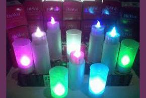 Recevez gratuitement des bougies en couleur