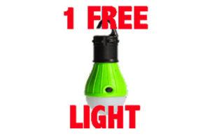 Lampe de camping LED Gratuite