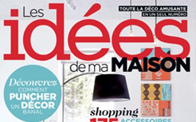 Abonnement d 39 un an au magazine les id es de ma maison for Idees de ma maison magazine