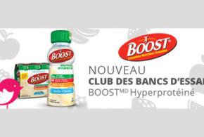 Boisson nutritive BOOST Hyperprotéinée Gratuite