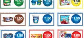 10$ de rabais sur les produits Danone et Kellogg's