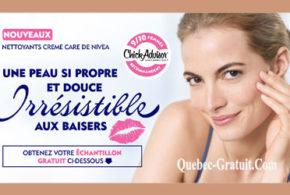Echantillons gratuits de la lotion nettoyante Creme Care de NIVEA