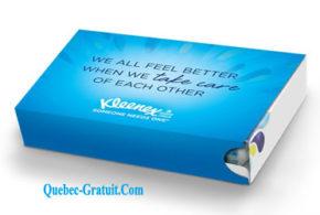 Boite à Kleenex Gratuite