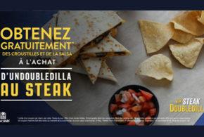 Croustilles et salsa gratuits