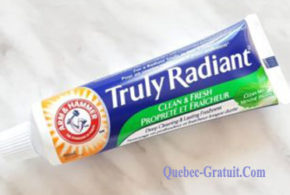 Dentifrice Arm & Hammer Truly Radiant Gratuit