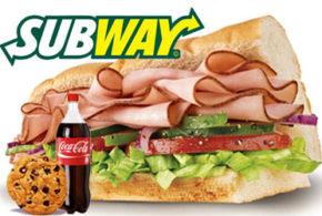 Sandwich Gratuit chez Subway