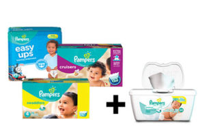 2$ en coupon rabais Pampers