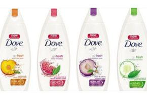 Échantillons Gratuits du gel nettoyant Dove Dry Oil Moisture