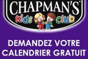 Calendrier Gratuit Chapman's + des coupons rabais