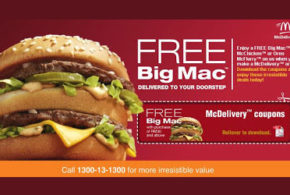 Un Big Mac ou un Mc Nuggets Gratuit