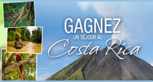 Concours gagnez un séjour au Costa Rica