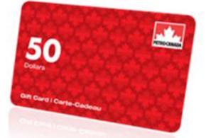 Concours gagnez une Carte cadeau Pétro-Canada de 50$