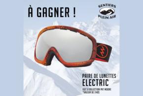 Concours gagnez une paire de lunettes Electric