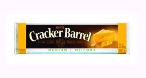 Coupon de 2$ sur les fromages Cracker Barrel
