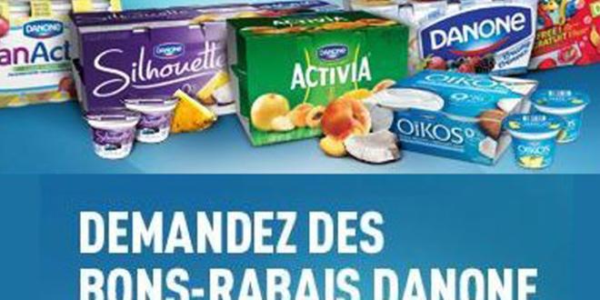 économisez sur des produits Danone