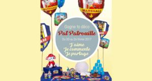 Concours gagnez ta deco Pat Patrouille
