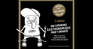 Concours gagnez un Repas pour 4 enfants au restaurant Chez Lionel