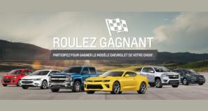 Concours gagnez un Véhicule Cadillac, GMC, Chevrolet ou Buick