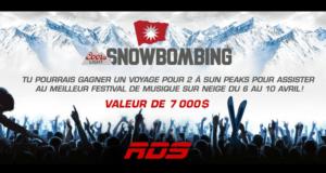 Concours gagnez un voyage pour 2 au festival Snowbombing (valeur de 7000$)