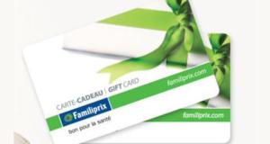 Concours gagnez une Carte cadeau Familiprix de 250 $
