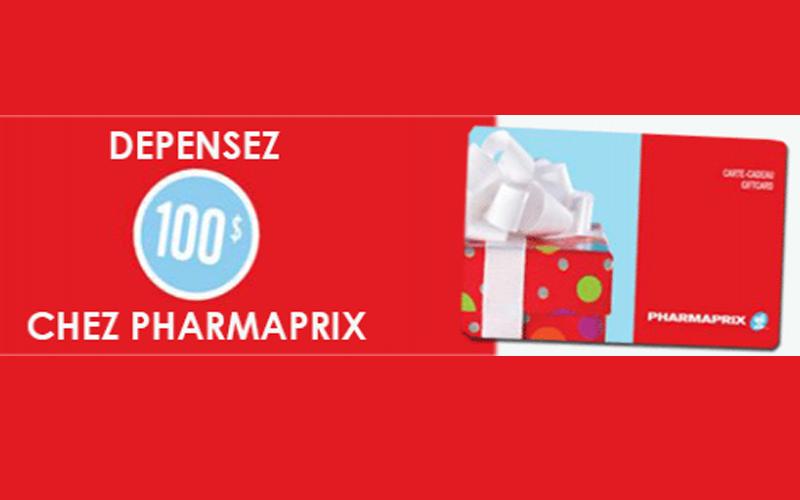 concours gagnez une carte cadeau pharmaprix de 100 chantillons gratuits concours coupons. Black Bedroom Furniture Sets. Home Design Ideas