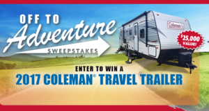 Concours gagnez une roulotte 2017 Coleman 263BH de 26260$